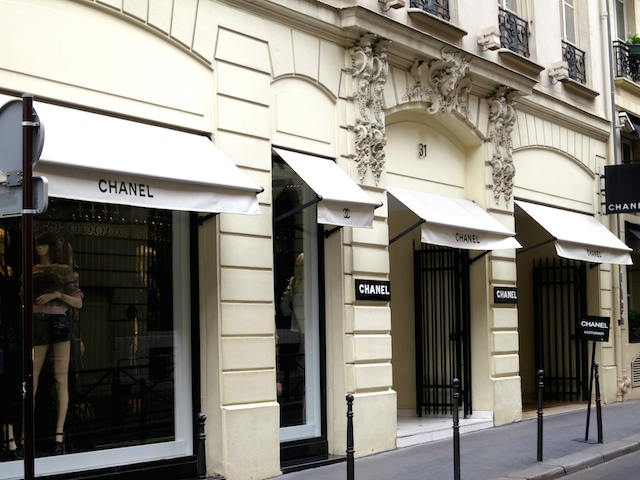 In the footsteps of Coco Chanel in Paris, Chanel boutique on Rue Cambon