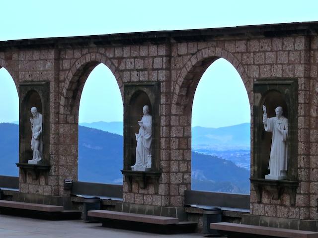 Spiritual places to visit Montserrat Monastery