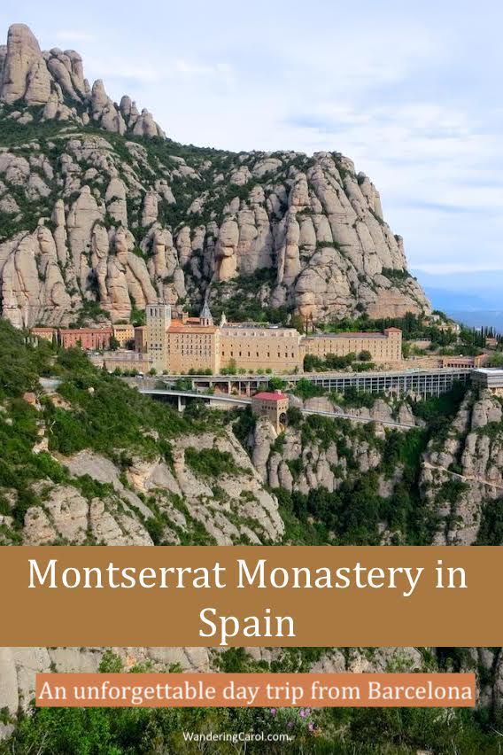 Montserrat Monastery in Spain, great as a day trip from Barcelona but even better if you stay overnight. Here is everything you need to know about visiting Montserrat Mountain.