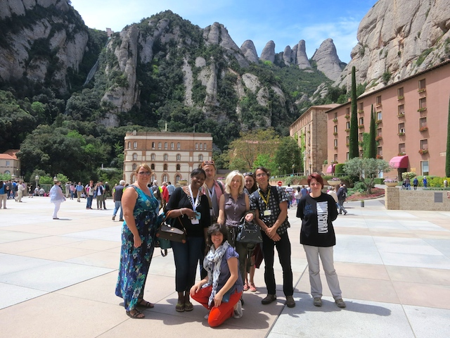Montserrat Mountain Spain travel blogger fam trip