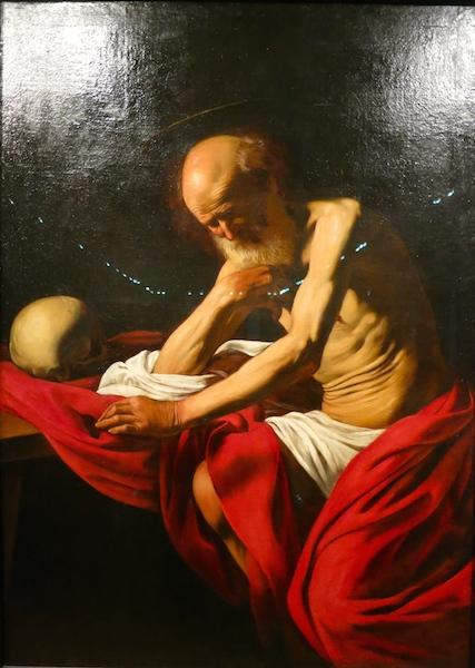 Montserrat Museum, Spain, Caravaggio, St Jerome