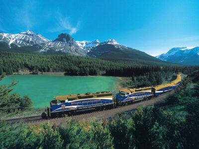 Rocky Mountaineer Luxury Train Trip Photo Credit: Rocky Mountaineer