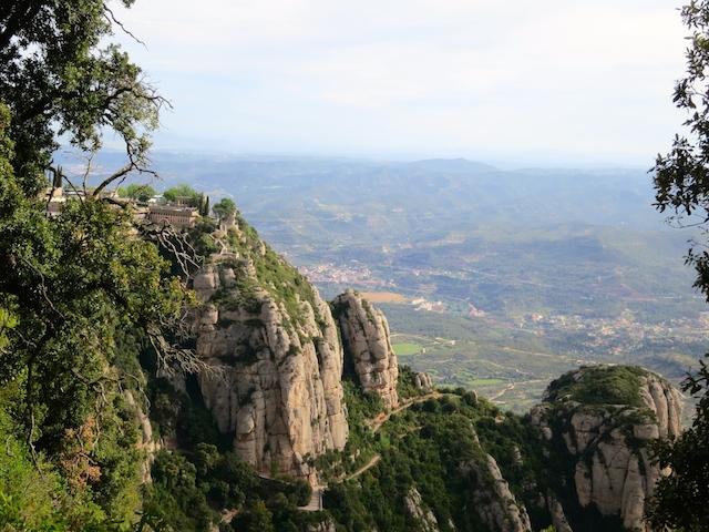 Scenic Montserrat Mountain Spain WanderingCarol.com