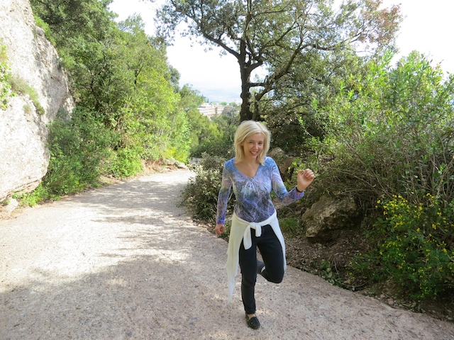 WanderingCarol.com at Montserrat Mountain, Spain