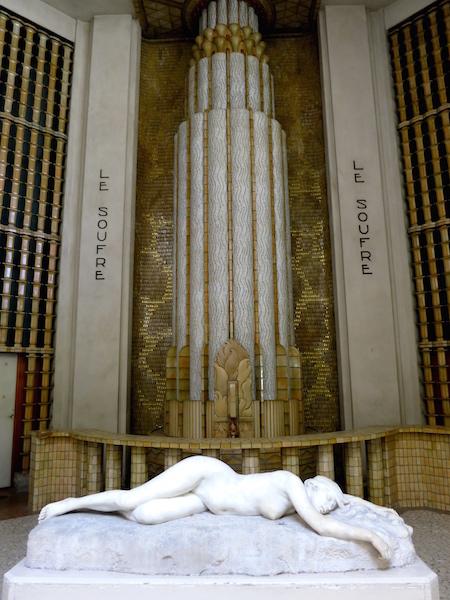Aix les Bains travel guide, Art Deco baths