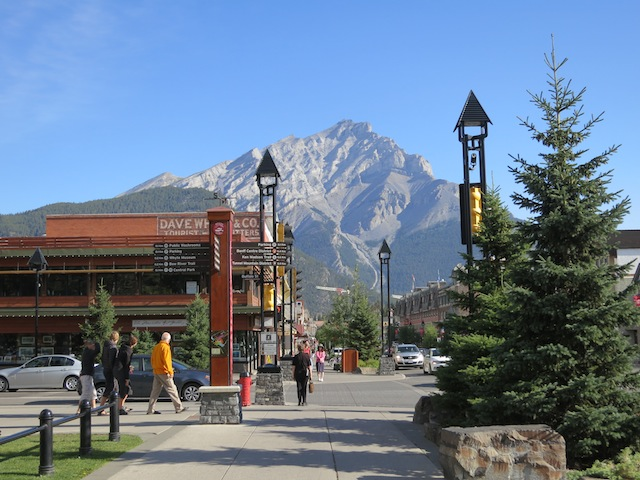 Banff Town, Banff National Park