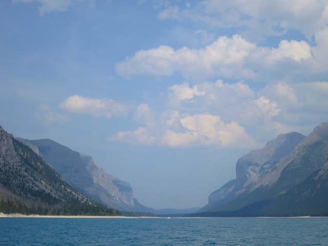 Devil's Gap, Lake Minnewanka Cruise, Banff, Canada