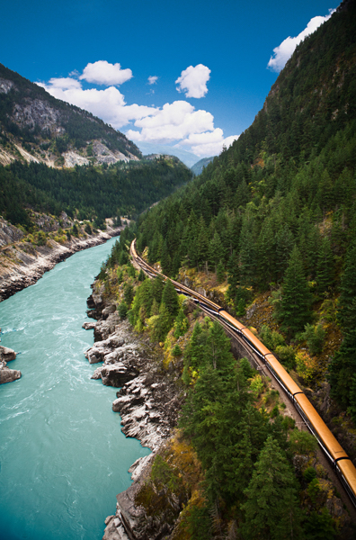 Fraser Canyon Coastal Passage Route Rocky Mountaineer