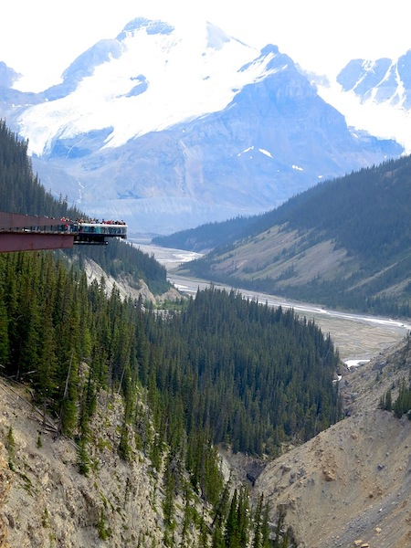 Icefields Parkway Canadian Rockies Glacier Skywalk