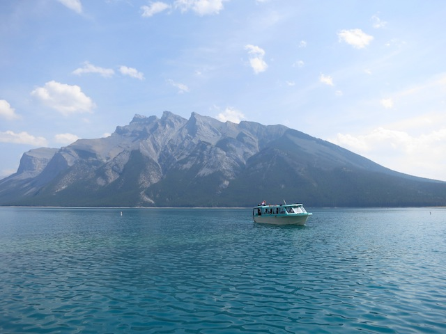 Lake Minnewanka Cruise, Banff, Canada