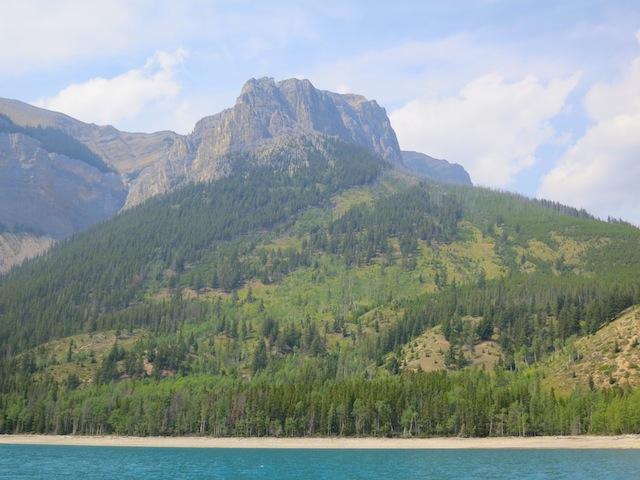 Banff Lake Minnewanka Cruise, Banff, Rocky Mountains, Canada