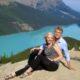 WanderingCarol and Mark Peyto Lake Brewster Tour