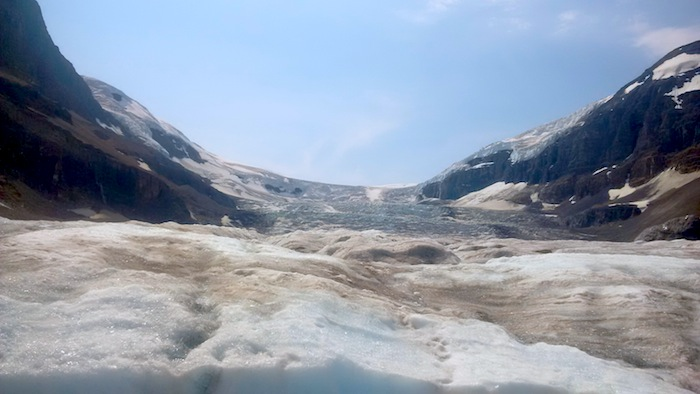 Columbia Icefields Icefield Parkway tour