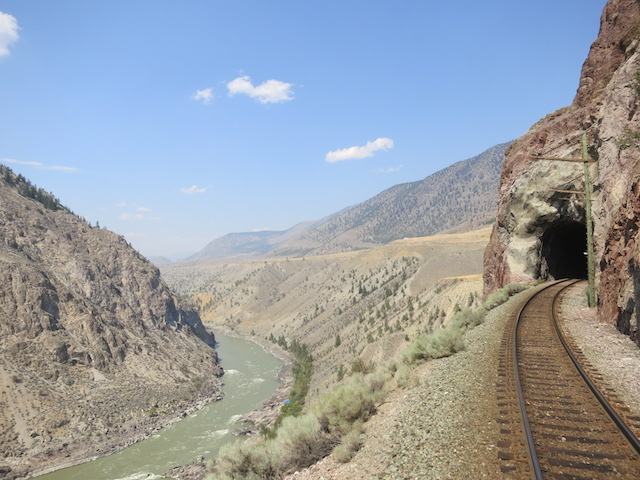 Fraser Canyon, a romantic train ride on the Rainforest to Gold Rush route