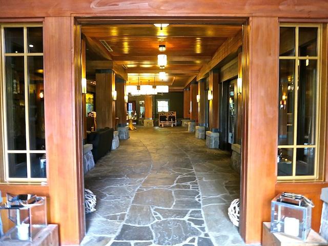 Nita Lake Lodge in Whistler Creekside review, granite floor