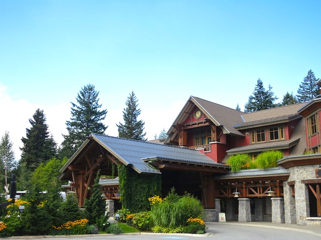 Nita Lake Lodge in Whistler Creekside review, hotel exterior