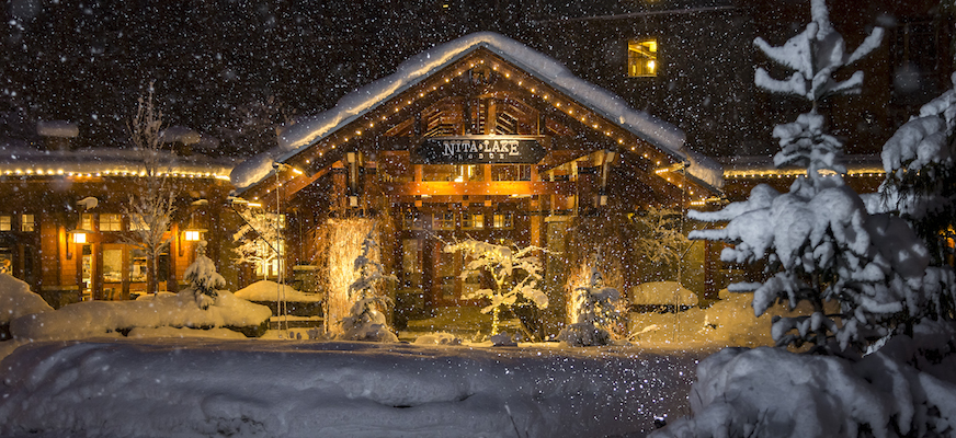 Nita Lake Lodge in Whistler Creekside review, winter