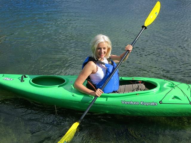 Nita Lake Lodge in Whistler review, kayak