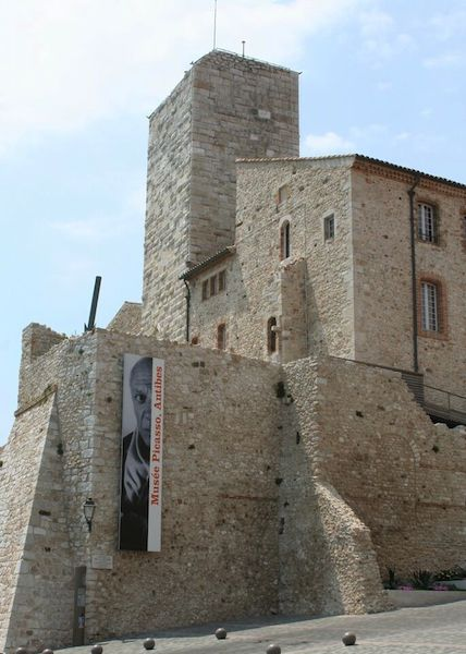 One day in Antibes, Picasso, Chateau Grimaldi