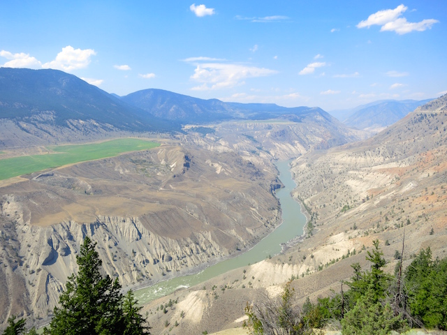Rainforest to Gold Rush route Rocky Mountaineer Fraser Canyon