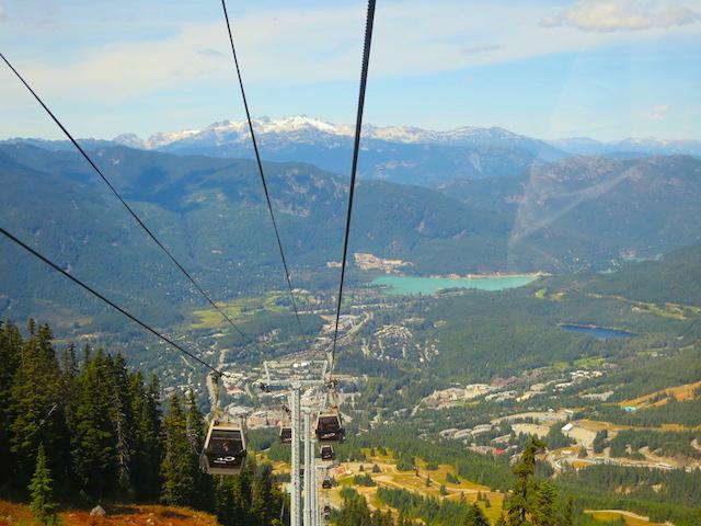 Peak to Peak Whistler 360 Experience, Whistler Village Gondola