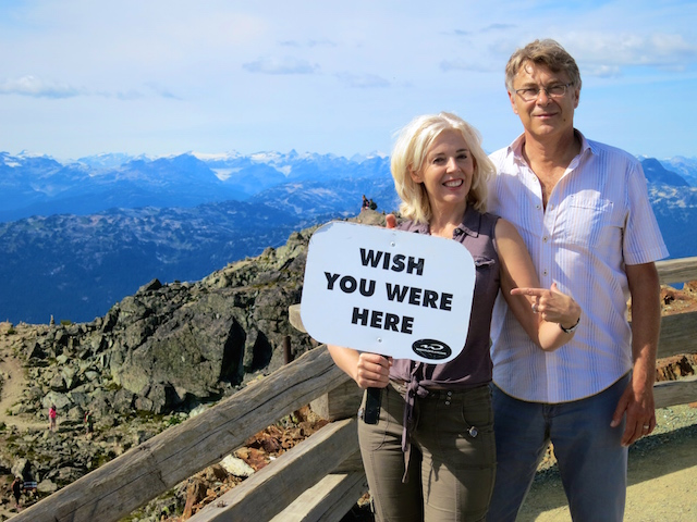 Peak to Peak Whistler 360 Experience, couples photo