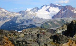 Annoying your husband on a Peak to Peak Whistler Gondola
