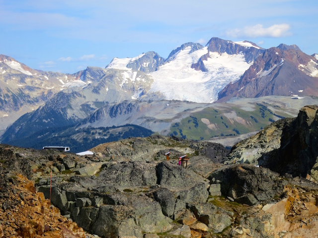 Peak to Peak Whistler Experience, mountain scenery