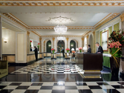 Review The Pierre hotel lobby