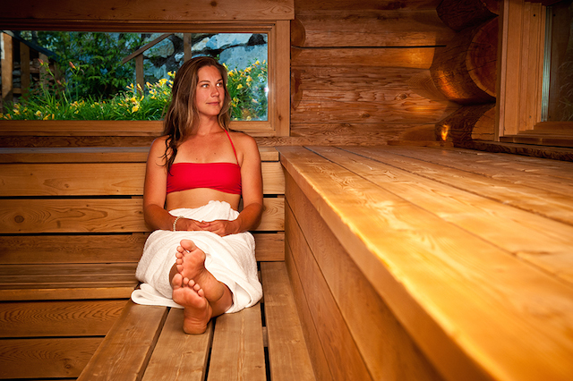 Scandinave spa in whistler reviews, sauna