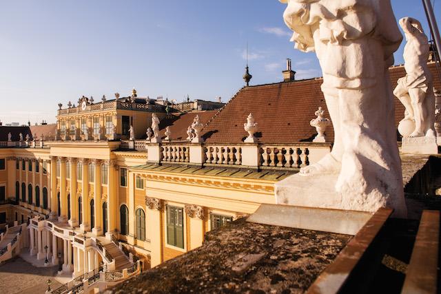Tours Vienna, Schonbrunn Palace facts, exterior