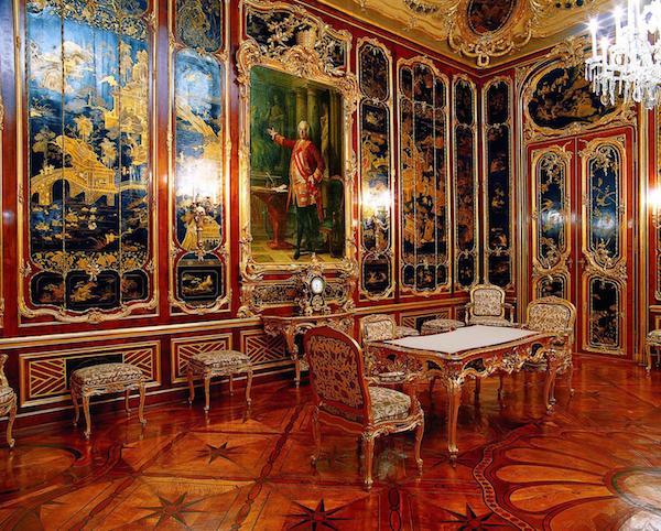 Tours Vienna Schonbrunn Palace facts Vieux Laque Room