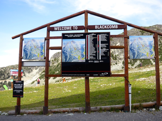 Whistler Peak 2 Peak experience Blackcombe