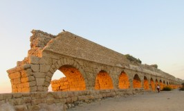 Caesarea beaches, Aqueduct Beach