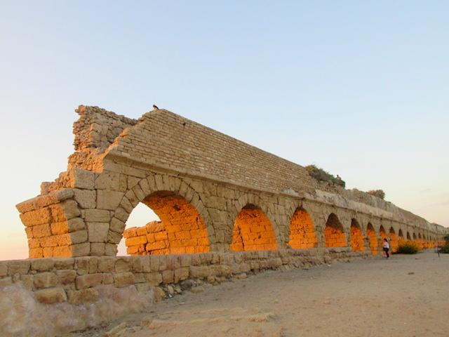 Caesarea beaches, Aqueduct Beach