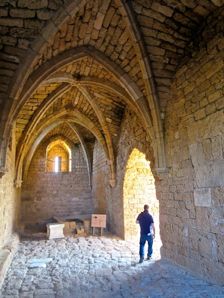 Caesaria in Israel, Crusader Gate