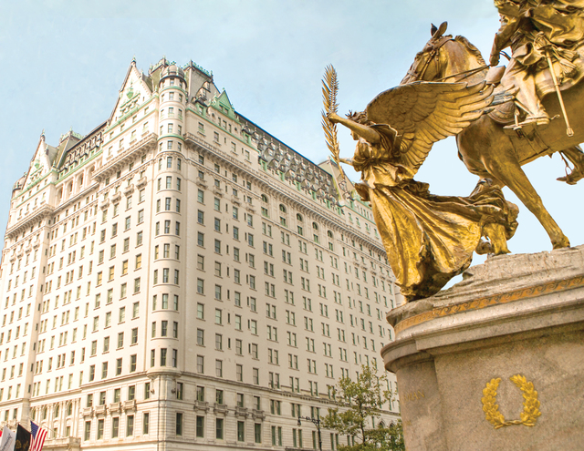 Luxury New York hotels, The Plaza blog review, exterior