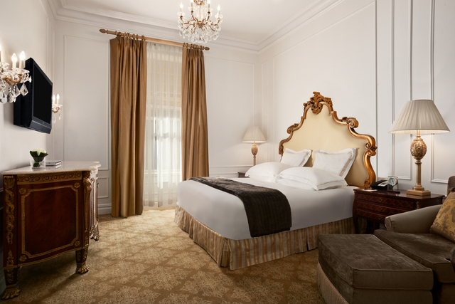 Luxury New York hotels, The Plaza blog review king room
