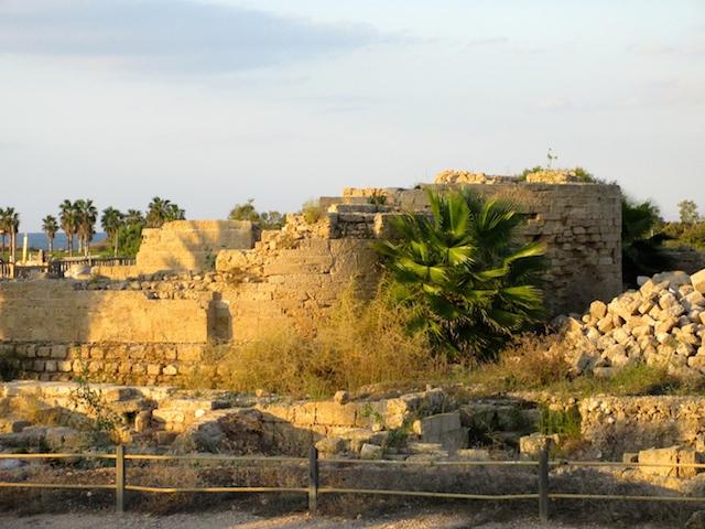 Ruins Caesarea in Israel