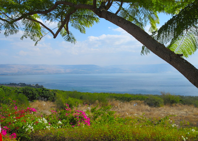 Trip to the Holy Land Sea of Galilee