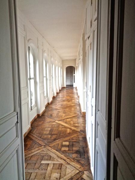 Visiting Versailles, Palace back corridor