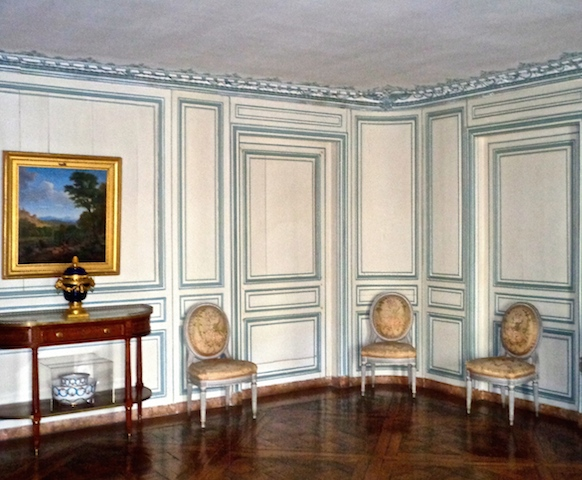 Visiting Versailles, Blue Room Madame du Barry