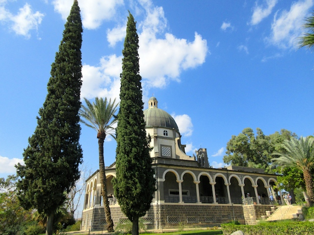 Visiting the Mount of Beatitudes, Church of the Beatitudes