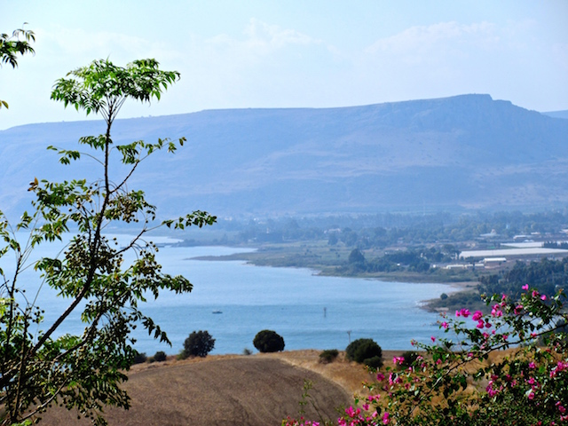 Visiting the Mount of Beatitudes, a trip to the Holy Land