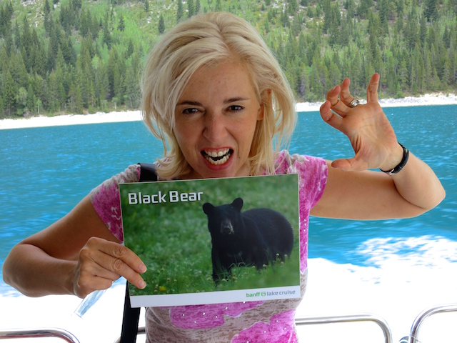 Blog Ambassadorship Rocky Mountaineer Bear fun