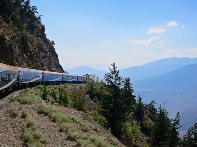 Blog Ambassadorship for Rocky Mountaineer scenic train