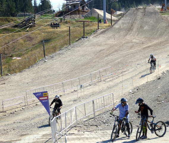 Mountain bike lessons in Whistler