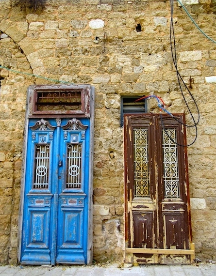 One day in Old Jaffa, Tel Aviv, Israel