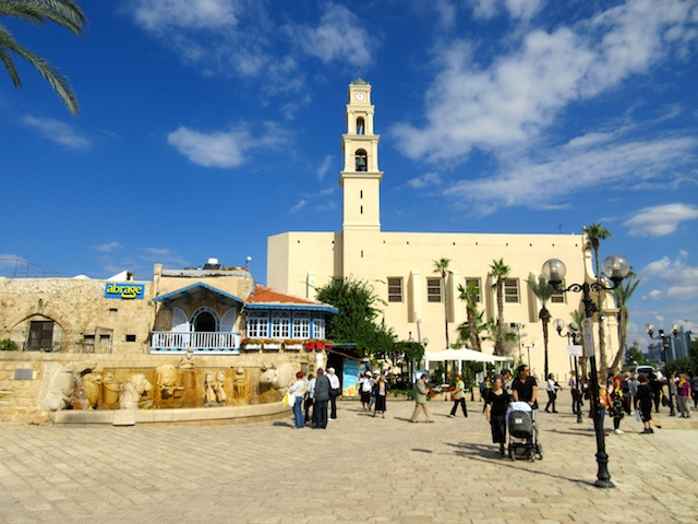 One day in Old Jaffa Tel Aviv, Kedumin Square
