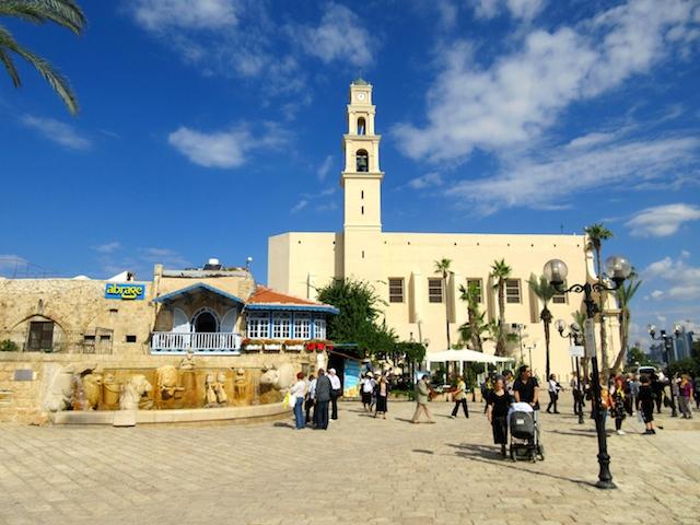 One day in Old Jaffa Tel Aviv, Kedumin Square